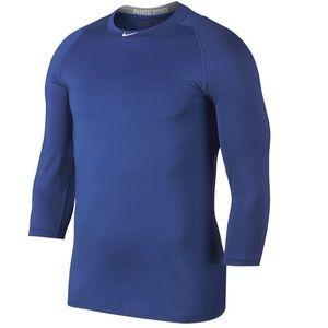 Nike Pro Men's 3/4 Sleeve Shirt